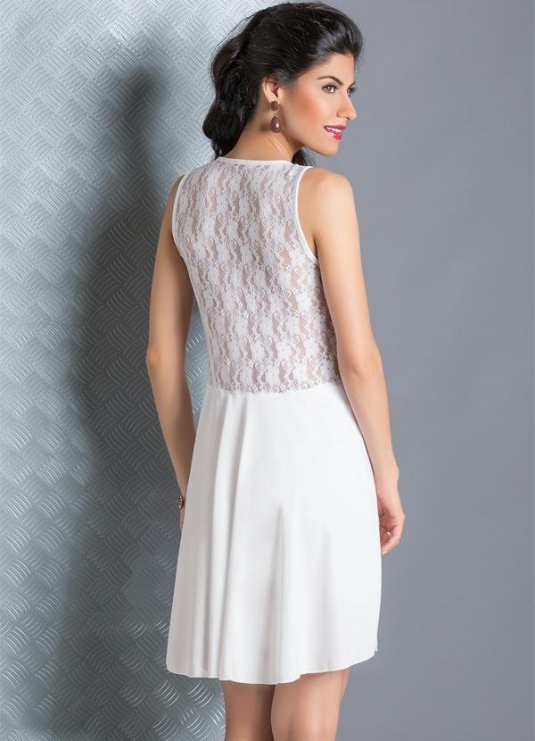 Vestido Casamento Renda Curto Preto Curtos Festa Vestidos