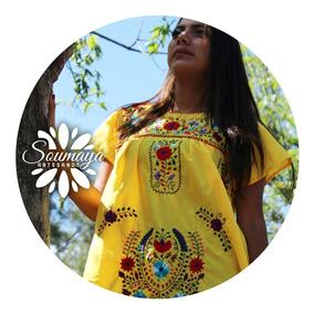 Vestidos Tradicionales Mexicanos Casuales Mujer Vestidos