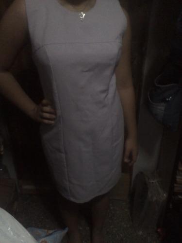 vestido casual color lila