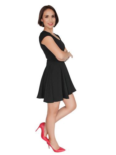 vestido casual corto