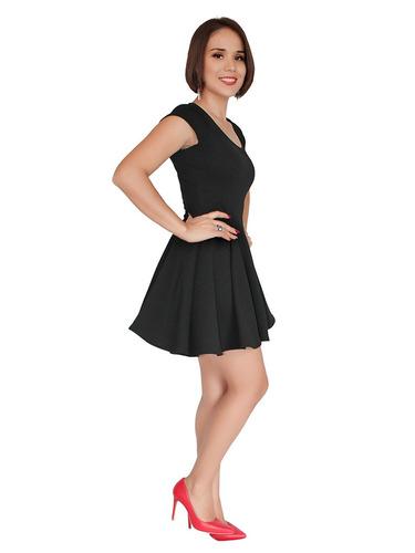 vestido casual corto juvenil moderno   circular  2295