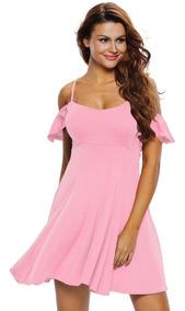 70e90be08fea Vestido Rosa Neon - Vestidos Mini L en Mercado Libre México