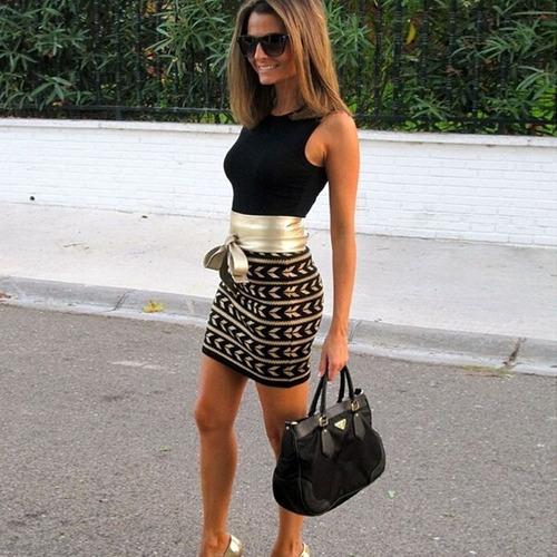 vestido casual executiva