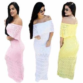 fee75af157 Vestido Tricot - Vestidos Casuais Femininas no Mercado Livre Brasil
