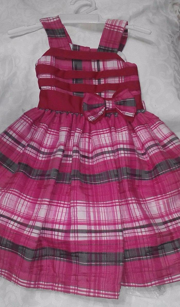 Vestido Casual O Fiesta Para Niñas De Cuadros - Bs. 13.000,00 en ...