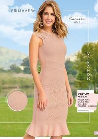 13a2685fe Vestido Casual Para Dama Palo De Rosa 985-09 Cklass 1-19