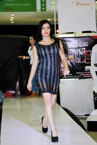 vestido casual para mujer + forro gratis muy elegante regalo