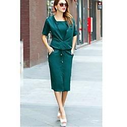 7597bf991 Vestido Casual Verde Jade -   199.00 en Mercado Libre