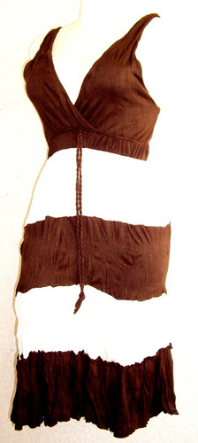 vestido casual vestir moda actua licra algodon