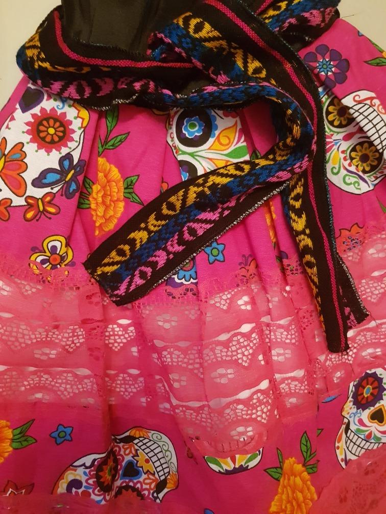 Vestido Catrina Muerte Alta Costura + Sombrero + Envio -   860.00 en ... 2bff5581f8b
