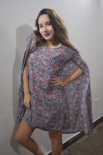vestido c/capa