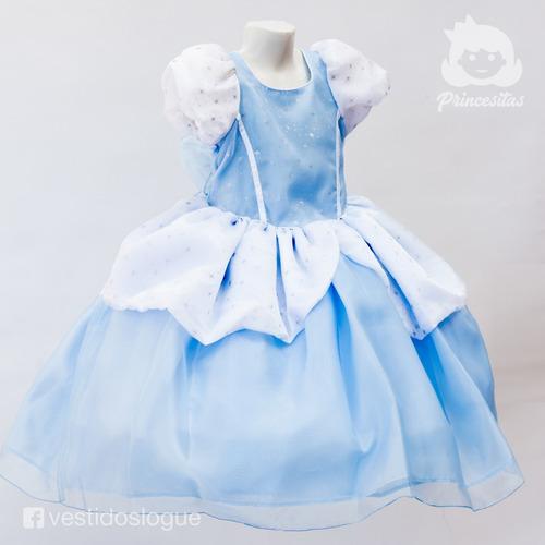 vestido cenicienta de princesa disfraz