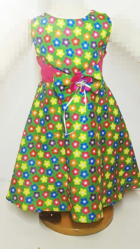 vestido ceremonia fiesta niña verano elegante t 4 y t 6