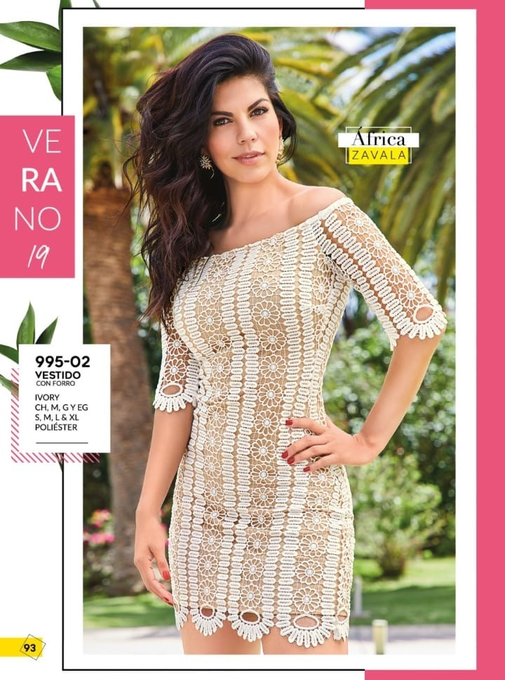Vestido Cforro Ivory Sexy Cklass 995 02 Pvmchn 2019