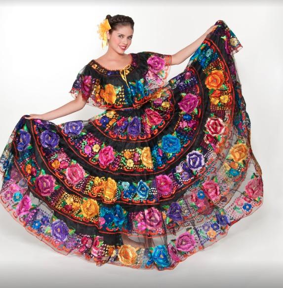 Vestido Chiapaneca Regional Tipico Chiapas Profesional