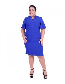 f1f3d87db7f8 Vestido Azul - Vestidos Femeninos em Manaus com o Melhores Preços no  Mercado Livre Brasil