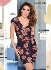 Vestido Andrea 2018 Vestidos De Mujer Corto Bordó En