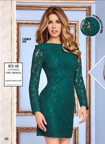 Vestidos Ivonne 2018 Ropa Bolsas Y Calzado De Mujer Verde