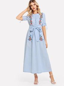 Vestidos Bordados Modernos Casuales Mujer Aguascalientes