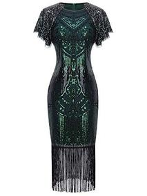 Dama De Para Mujer Baja Coctel Vestidos Verde En w8PknOX0