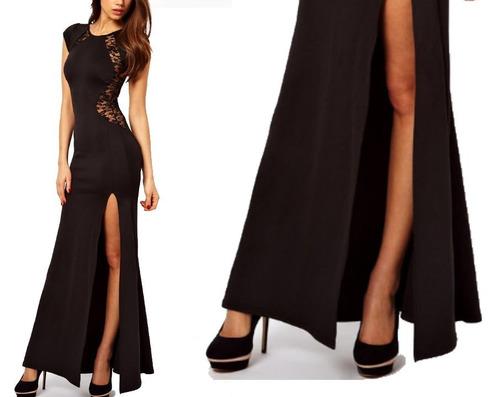 vestido cóctel - fiesta - gala (010172) elbauldecorina