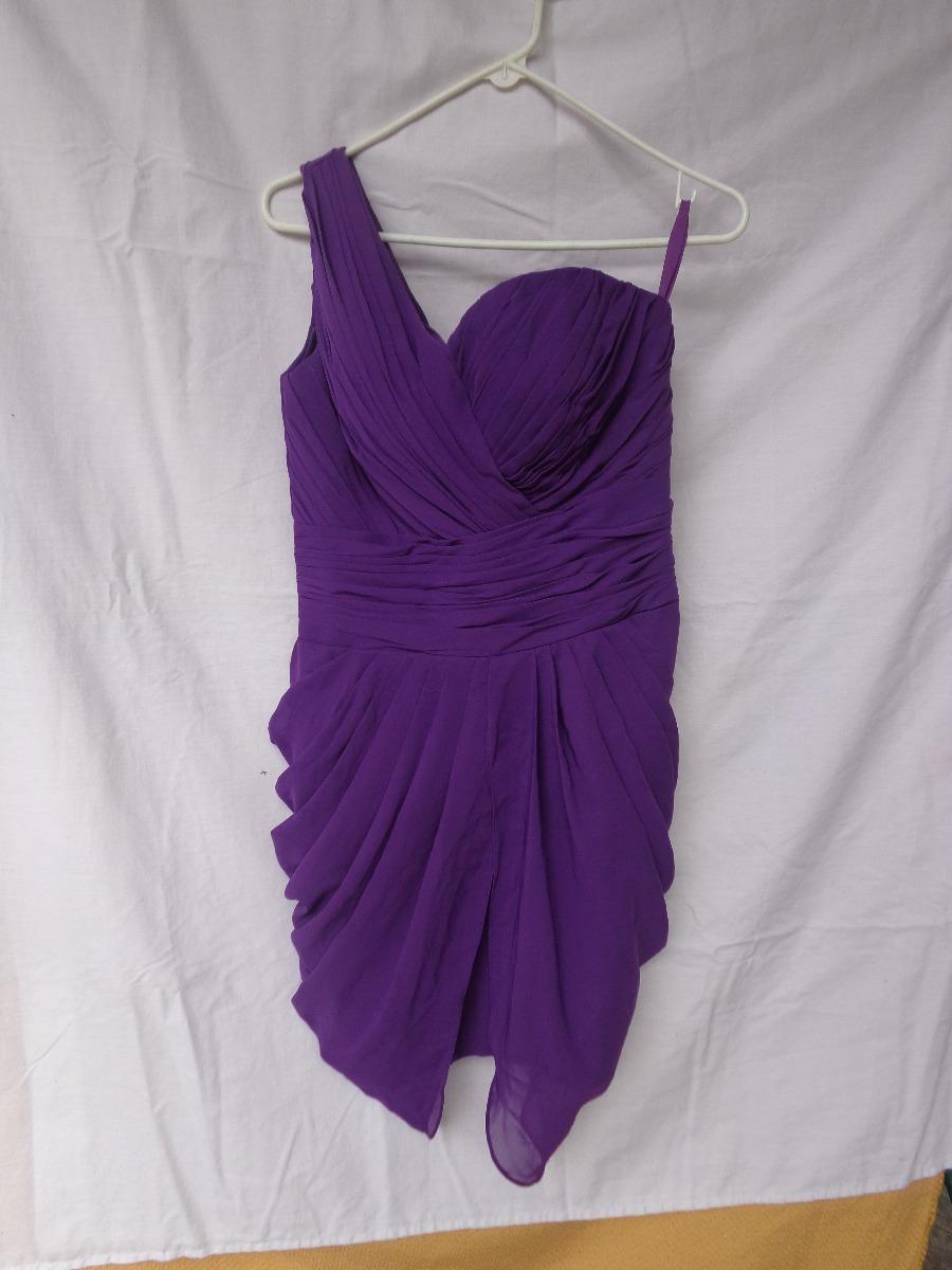 Vestido Cóctel Morado - Bs. 11.200.000,00 en Mercado Libre