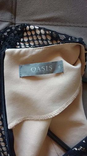 vestido coctel oasis