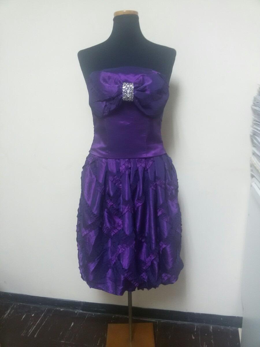 Vestido Coctel Talla 8-10 Adaptable Color Morado - Bs. 15.000.000,00 ...