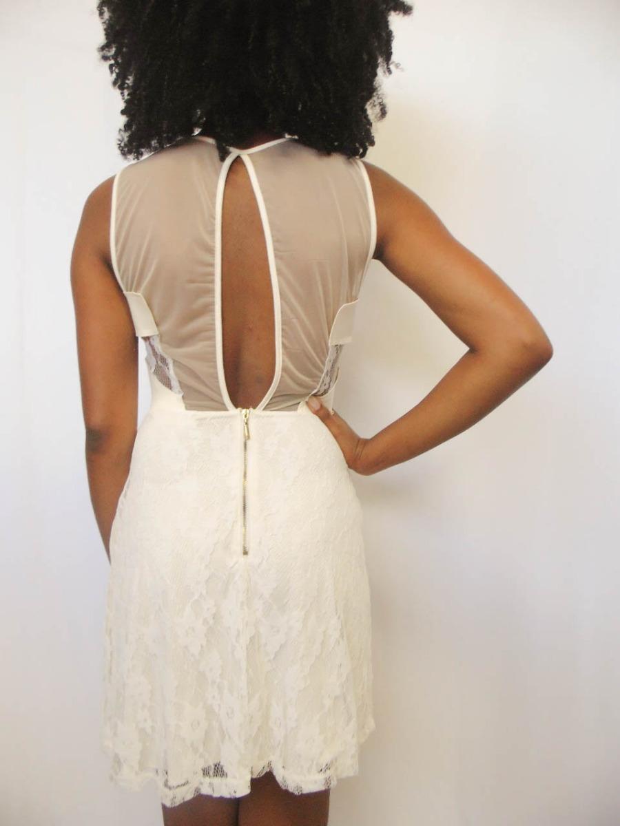 4c18803e1 Vestido Colcci Sommer Renda E Tule - R$ 159,90 em Mercado Livre