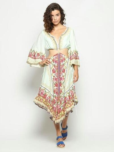 15abc7821 Vestido Colombiana Farm - R$ 289,00 em Mercado Livre