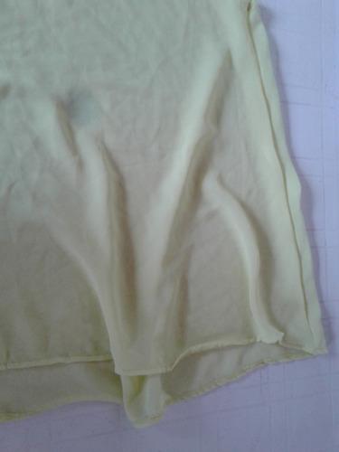 vestido color lima transparente como quieres que 40 nuevo!