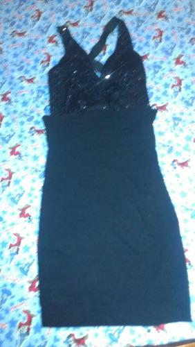 vestido color negro casi nuevo en perfectas condiciones