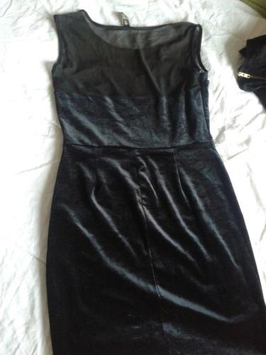vestido color negro talle m buen estado de 47 street