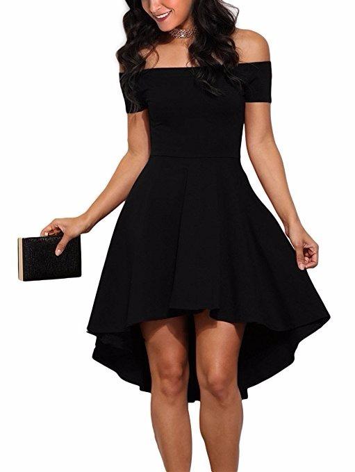 Imagenes de vestidos de color negro