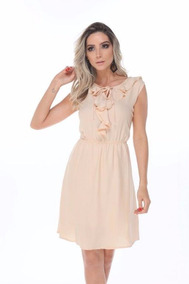 f4d0b10d2 Vestido Soltinho Viscose Com Bojo - Calçados, Roupas e Bolsas no Mercado  Livre Brasil
