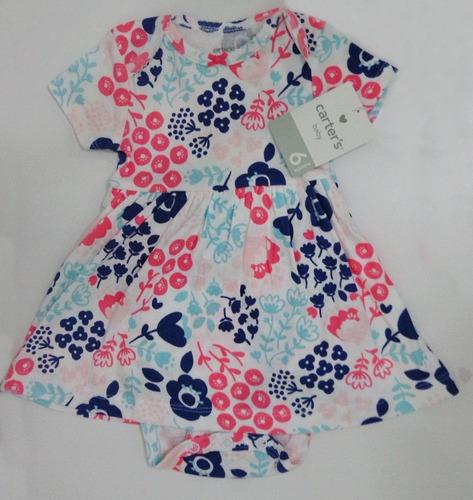 vestido com bolero carter's estampa flores - original