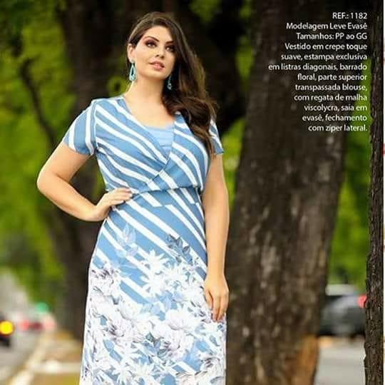 3cc98b5c9 Vestido Com Decote Transpassado Cassia Segeti - R$ 199,60 em Mercado ...