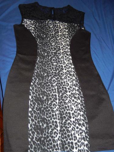 vestido con encaje, elastizado