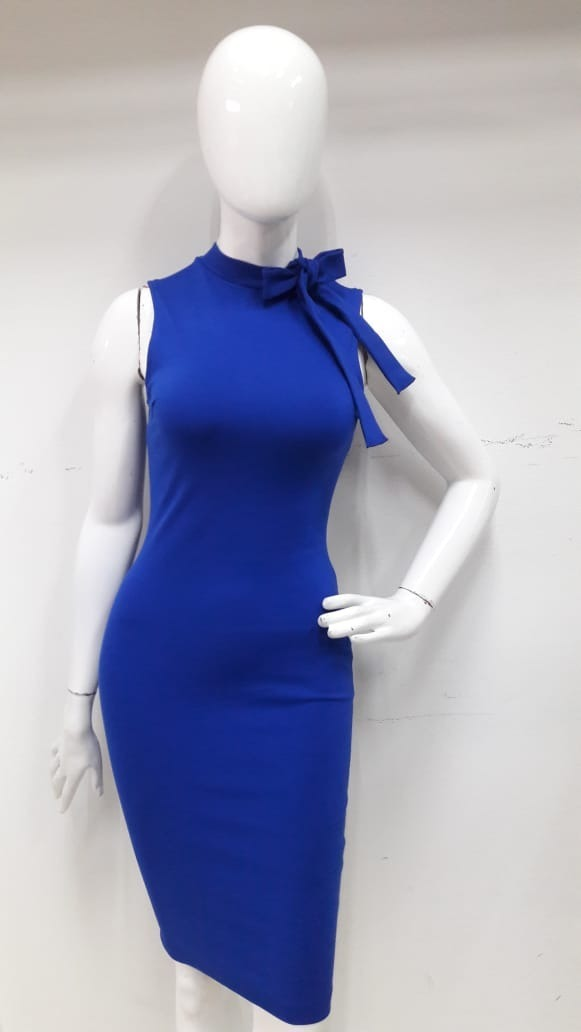 alta moda estilo limitado promoción Vestido Con Moño Estilo Fiesta De Día