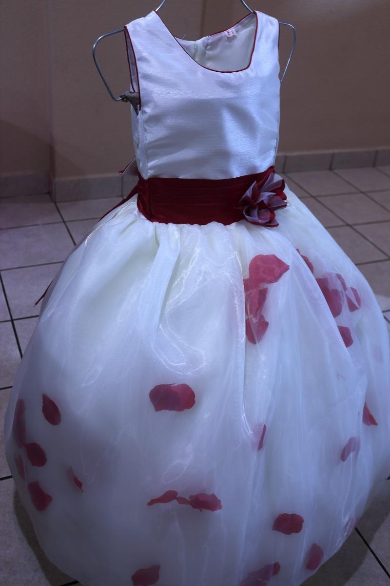 Moderno Niñas Vestidos De Dama Blanca Ideas - Vestido de Novia Para ...