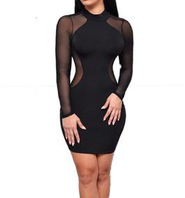 c051d2dad Vestido Transparente - Vestidos de Mujer en Mercado Libre México