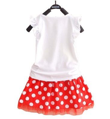 mujer vestido niña blusa conjunto falda mouse disney minnie qPvqCXrn
