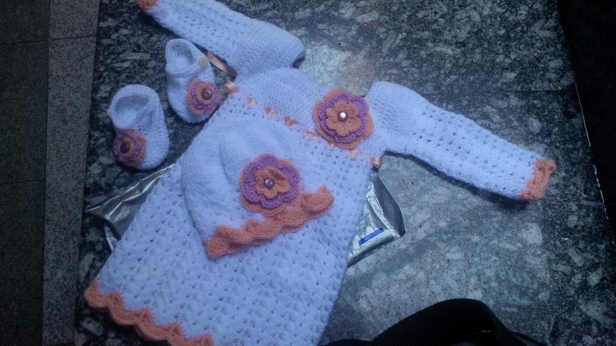 83d85b860 vestido conjunto capullo tejido crochet ropa bebe niña niño. Cargando zoom.