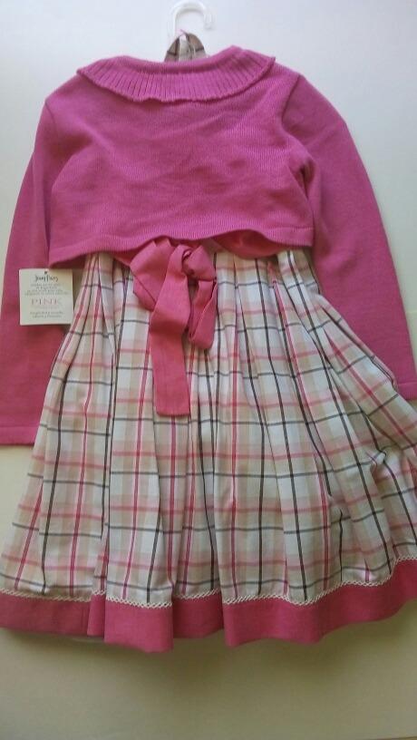 a33004808 Vestido Conjunto Jessy Franz Niña