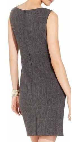 vestido connected apparel gris talla s talle corto 6p mama