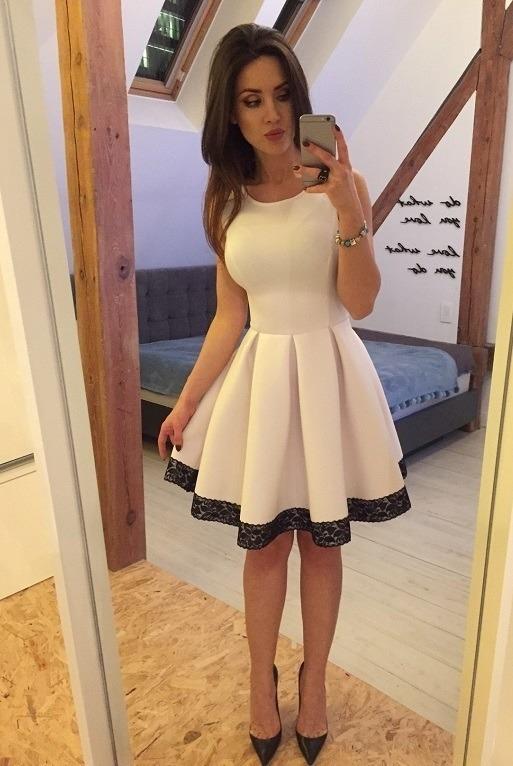 Vestidos blancos corte princesa