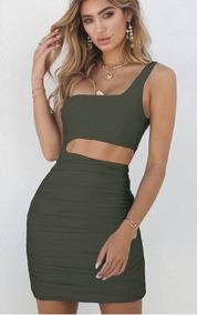 RopaCalzados Talle Verde Mango Vestidos Xl En Y Accesorios 8nwk0OP