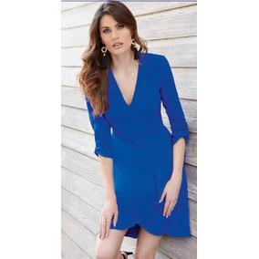 Vestido Corto Azul Rey 93905 Tallas Ch Xg
