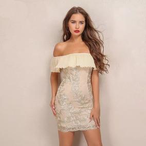 454281e1f3ab Vestido Corto Bordado Fiesta Formal Gala Casamiento Noche