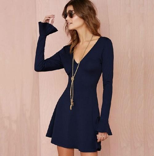 Mercadolibre vestidos cortos casuales manga larga